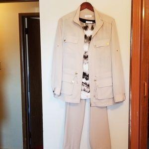 Calvin Klein pantsuit (size L)